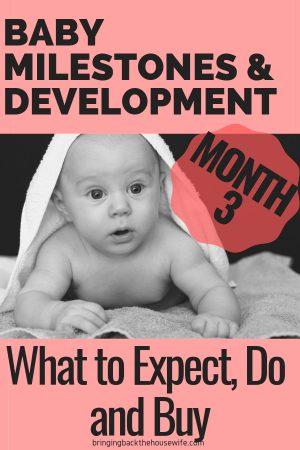 3 Month Baby Milestones