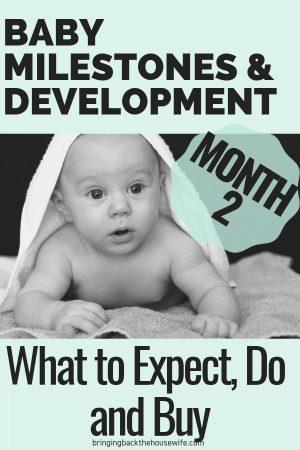 2 Month Baby Milestones