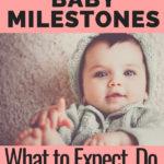 3rd month baby milestones