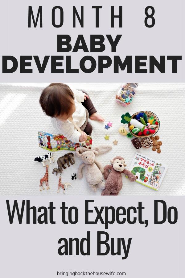 Baby development 7 months