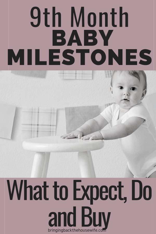 9th month baby milestones