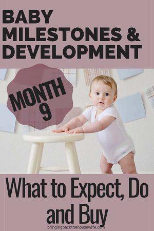 9 Month Baby Milestones