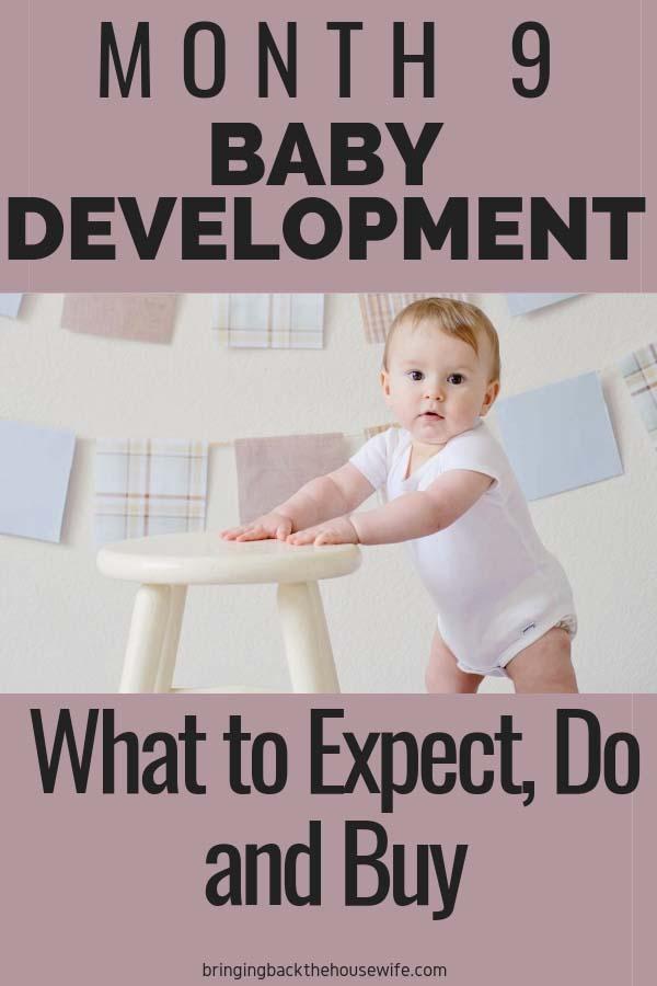 Baby development 9 months