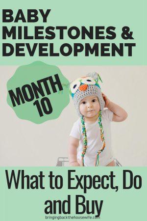 10 Month Baby Milestones