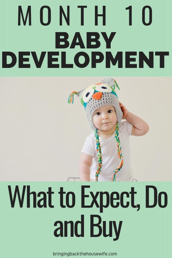 Baby development 10 months