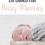 sleep training for busy mamas