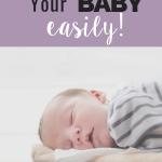 sleep train your baby easily