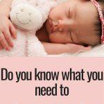 What you need to sleep train